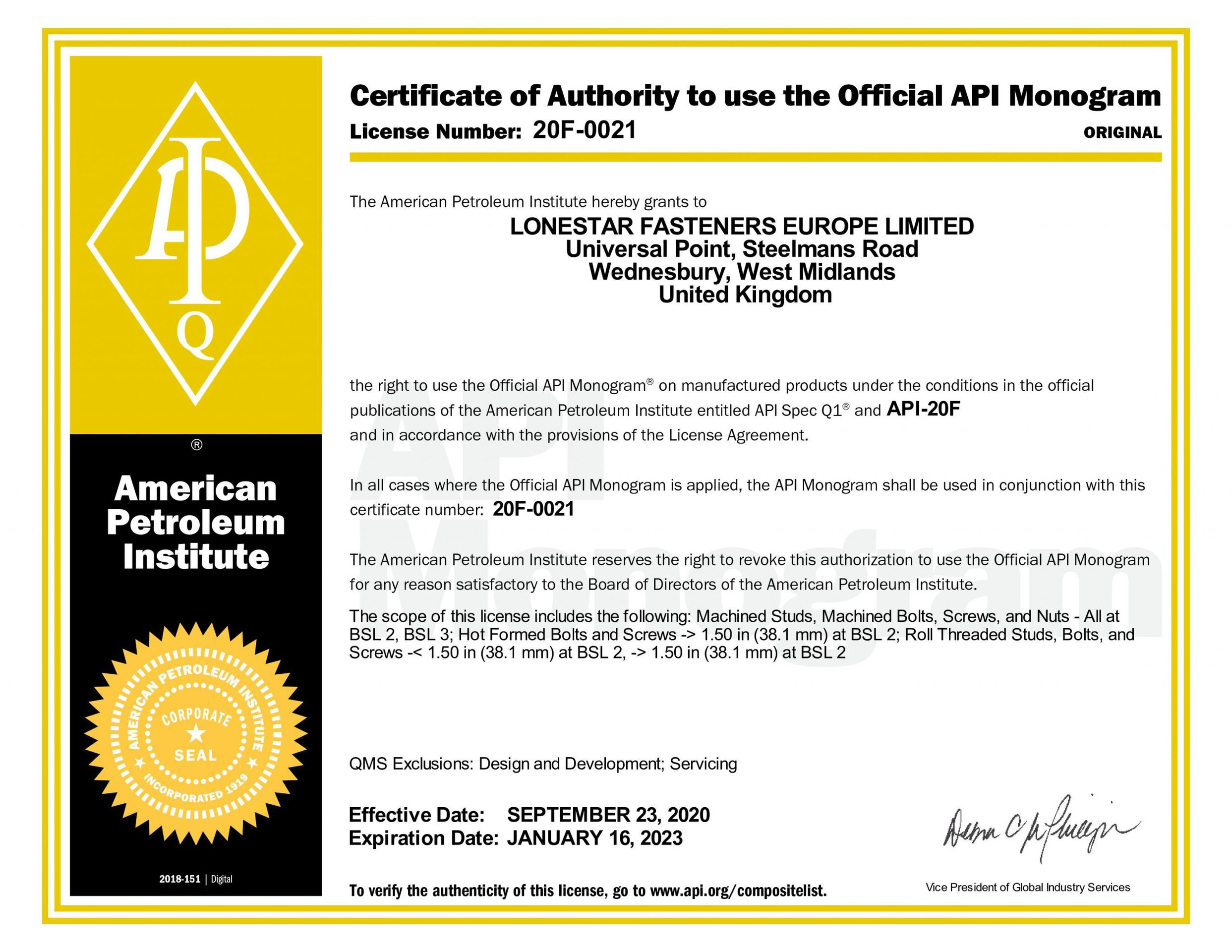 Level 3 Certificate 20F 0021 20200923120935 1