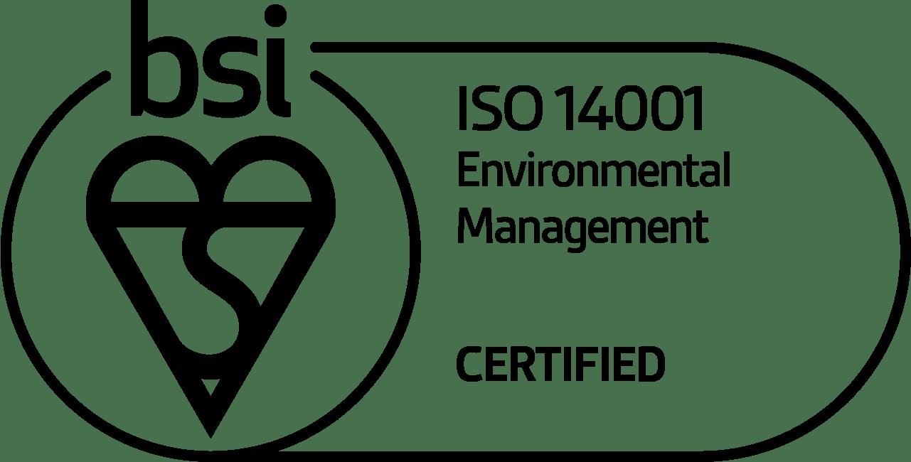 Mark Of Trust Certified ISO 14001 Environmental Management Black Logo En GB 1019